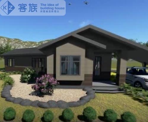 一层住宅案例,美式乡村风格结构