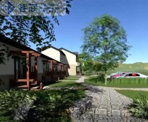 度假村项目,有泳池,温泉,养生放松好去处